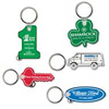 Soft Touch Vinyl Key tags
