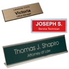 Custom Name badge and desk plates