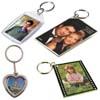 photo holder keychains