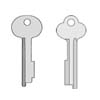 safe deposit key blanks